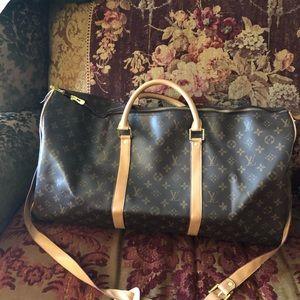 Louis Vuitton overnight bag- travel bag
